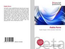 Capa do livro de Pablo Ferro