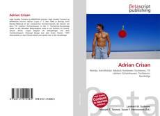 Обложка Adrian Crisan