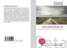 Bookcover of New Jersey Route 25