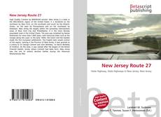 Bookcover of New Jersey Route 27