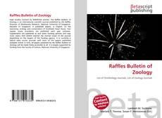 Borítókép a  Raffles Bulletin of Zoology - hoz