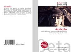 Buchcover von Adschìvika