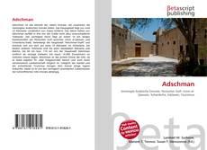 Buchcover von Adschman