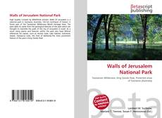 Buchcover von Walls of Jerusalem National Park