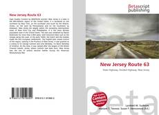 Couverture de New Jersey Route 63
