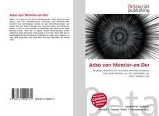 Buchcover von Adso von Montier-en-Der