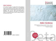 Portada del libro de Adán Cárdenas