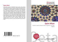 Couverture de Qaim Khan