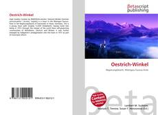 Oestrich-Winkel kitap kapağı