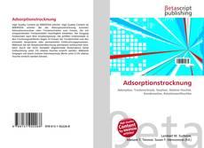 Bookcover of Adsorptionstrocknung