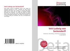 Обложка Veit Ludwig von Seckendorff