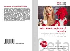 Bookcover of Adult Film Association of America