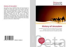 Buchcover von History of Jerusalem