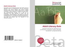 Borítókép a  Adult Literacy Rate - hoz