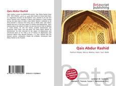Обложка Qais Abdur Rashid