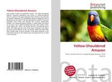 Portada del libro de Yellow-Shouldered Amazon