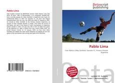 Capa do livro de Pablo Lima