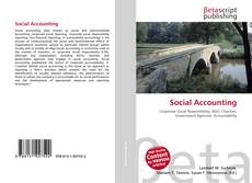 Capa do livro de Social Accounting