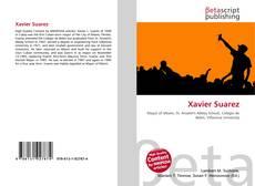 Capa do livro de Xavier Suarez