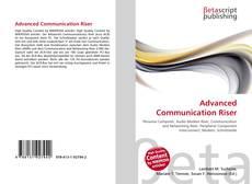 Portada del libro de Advanced Communication Riser