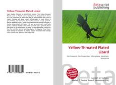Bookcover of Yellow-Throated Plated Lizard