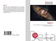 Vela X kitap kapağı