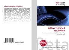 Buchcover von Yellow-Throated Scrubwren