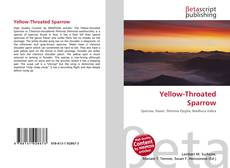 Buchcover von Yellow-Throated Sparrow