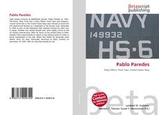 Bookcover of Pablo Paredes