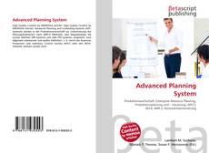 Couverture de Advanced Planning System