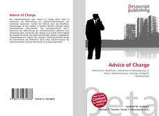 Portada del libro de Advice of Charge