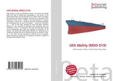 Bookcover of USS Ability (MSO-519)