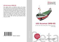 Bookcover of USS Accomac (APB-49)
