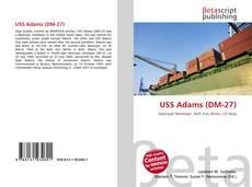 Bookcover of USS Adams (DM-27)