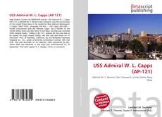 Portada del libro de USS Admiral W. L. Capps (AP-121)