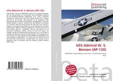 Bookcover of USS Admiral W. S. Benson (AP-120)