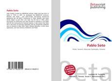Pablo Soto kitap kapağı