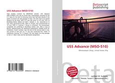 Bookcover of USS Advance (MSO-510)