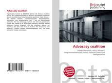 Borítókép a  Advocacy coalition - hoz