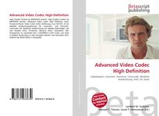 Bookcover of Advanced Video Codec High Definition