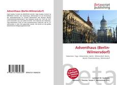 Bookcover of Adventhaus (Berlin-Wilmersdorf)