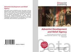 Adventist Development and Relief Agency kitap kapağı