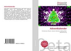 Adventkalender kitap kapağı