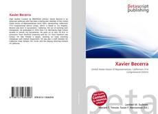Copertina di Xavier Becerra