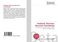 Bookcover of Podlasek, Warmian-Masurian Voivodeship