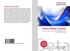 Обложка Yellow Matter Custard