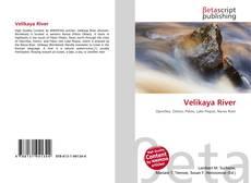 Capa do livro de Velikaya River