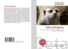 Capa do livro de Yellow Mongoose