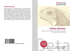Bookcover of Yellow Monitor