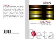 Bookcover of Yellow Pages